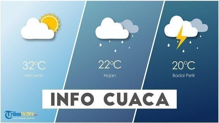 BMKG: Peringatan Dini Cuaca Ekstrem 31 Maret – 1 April, Jatim & Jabar Hujan Lebat Disertai Angin