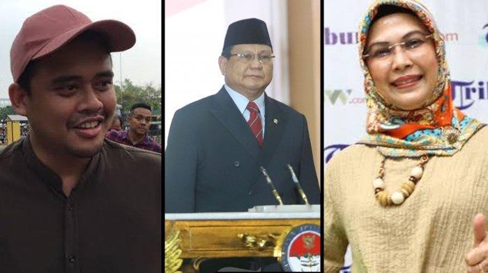 Menantu Jokowi dan Putri Ma'ruf Amin Sowan Prabowo, Pengamat Sebut Peluang Didukung Gerindra Tinggi